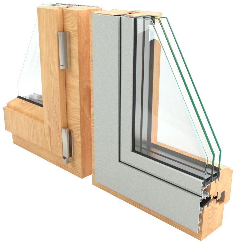 Konstrukcija drvo-aluminijum